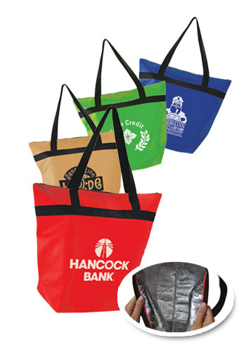 Promotional Insulated Shopper Totes