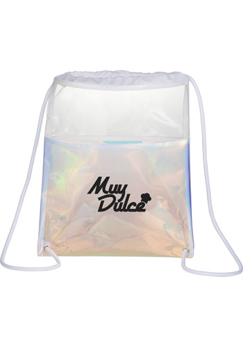Iridescent Drawstring Bags | LE300537
