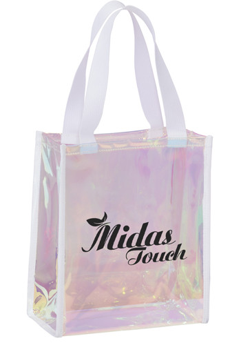 Customized Iridescent Gift Totes