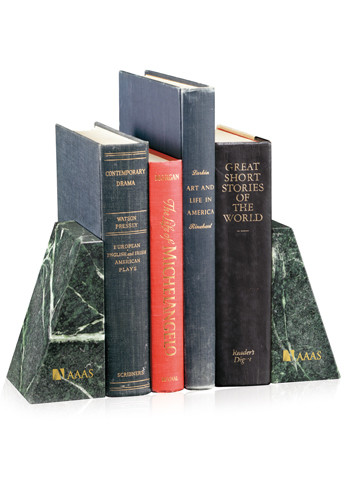 Verde Marble Bookends | X10567
