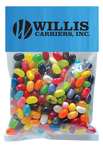 Jelly Bellys - 1 Color in Large Header Pack | MGBH4JBS