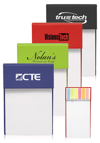 Jotter Pads with Sticky Flags | NOT37