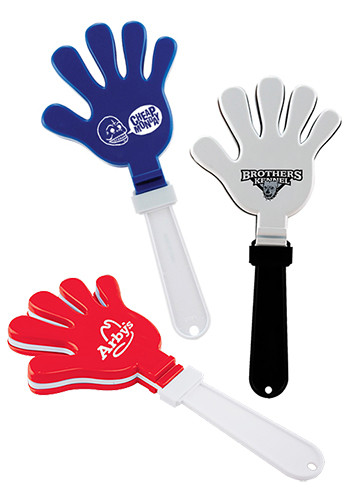 Personalized Jumbo Hand Clappers