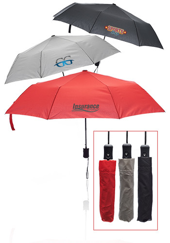 Customized Compact Automatic Folding Umbrellas