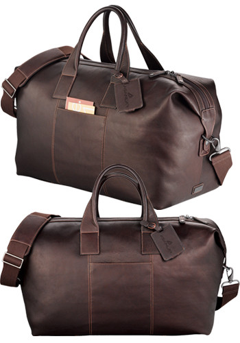 Kenneth Cole Colombian Leather Weekender Duffel Bags | LE995030