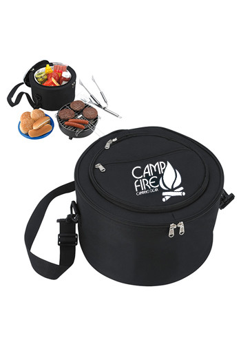 KOOZIE Portable BBQ Grills with Kooler Bag | X30027