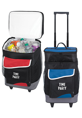 KOOZIE Two-Compartment Rolling Koolers | X11687