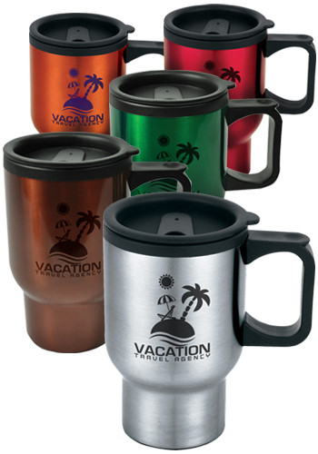 Promotional 16 oz. Laguna Travel Mugs
