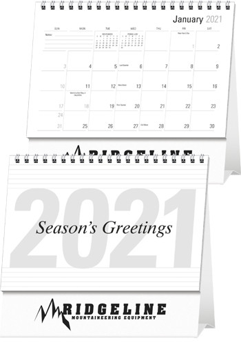 Customized Large Econo Desk Calendars