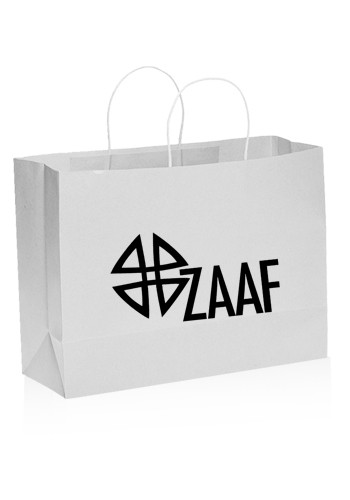 Large White Paper Shopping Bags  e9a3d937935b7