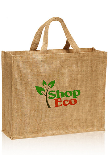 Personalized Large Jute Tote Bags