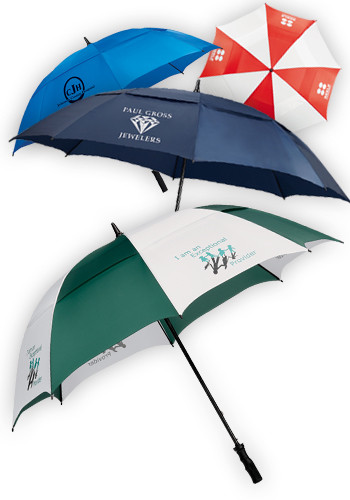 Course Vented Golf Umbrellas | LE205009