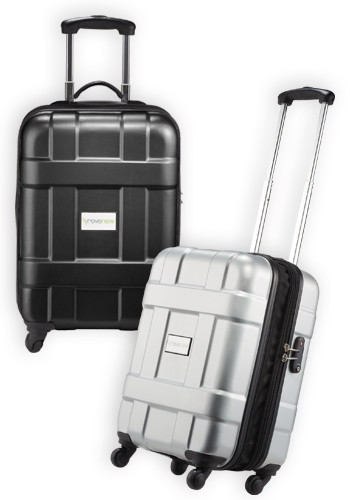 Promotional Luxe Hardside 4-Wheeled Carry-On Luggage