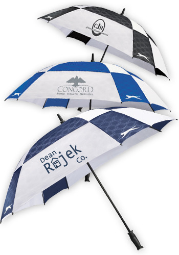 Customized 60-in. Slazenger Cube Golf Umbrellas