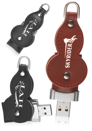 Personalized 4GB Leather Thumb Drives