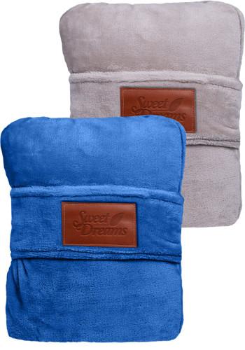 LEEMAN Duo Travel Pillow Blankets