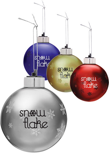 Light-Up Glass Ornaments | IL1785