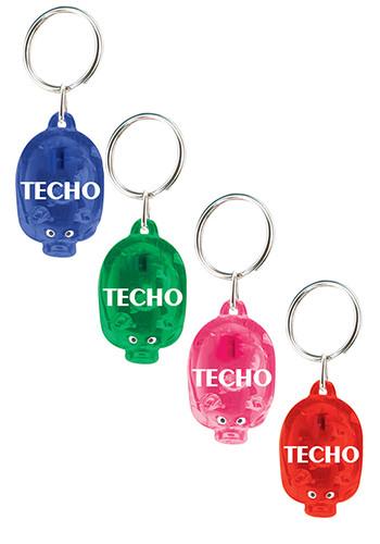 LED Pig Keychains | IL797