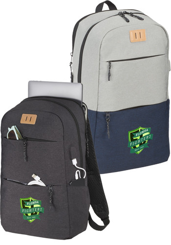 Personalized Linden 15 Inch Computer Backpacks
