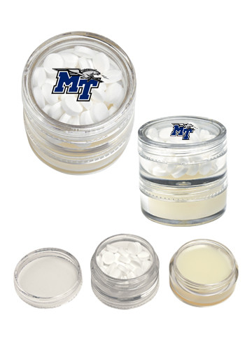 Hydratants pour les lèvres et combo menthe personnalisés