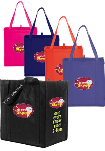 Little Grocery Non-Woven Totes | LE215001