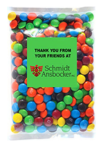 M&Ms - Plain - 1 Color in Large Label Pack | MGBL4MMS