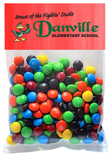 M&Ms Plain in Large Header Pack | MGBH4MM