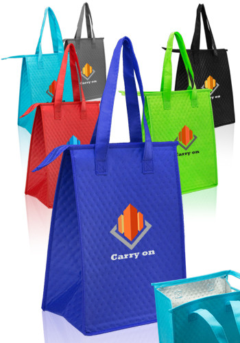 Bulk Zipper Insulated Lunch Tote Bags