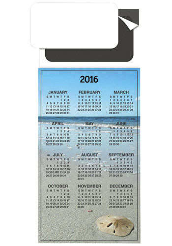 Personalized Magnetic Card - Calendar Magnets