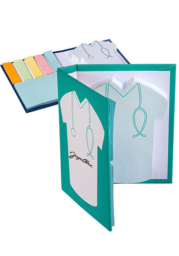 Medical Scrub Sticky Notes Books | PL1735