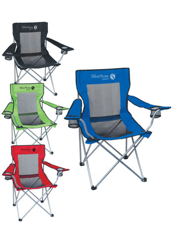 Mesh Folding Chairs with Carrying Bag  sc 1 st  DiscountMugs & Printed Mesh Folding Chairs with Carrying Bag | X10035 - DiscountMugs