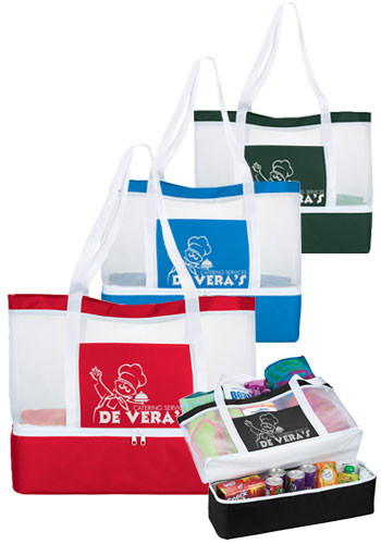 Mesh Outdoor Cooler Tote Bags | SM7188