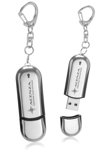 32GB Metal USB Keychains | USB03632GB