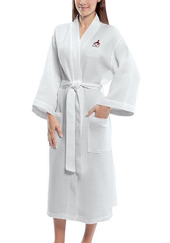 Mid Calf Length Waffle Weave Kimono Robes| TERW1007W