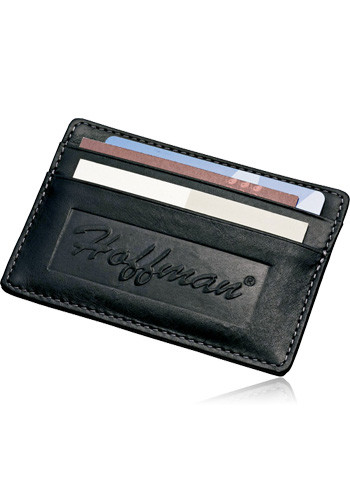 Promotional Millennium Leather Card Wallets