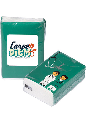 Wholesale Mini Tissue Packets - Doctor And Nurse