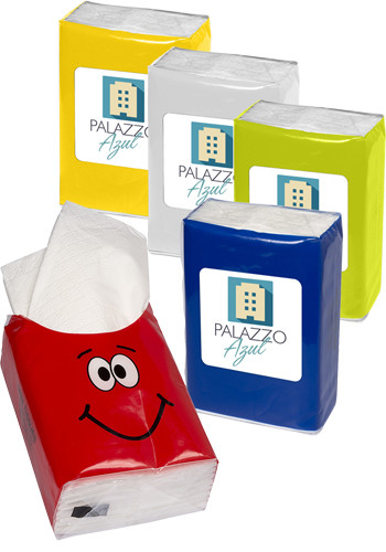 Customized Mini Tissue Packets - Goofy Group