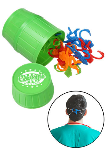 Multi -Purpose Ear Saver and Barrel of Monkeys Game | EDBMK137