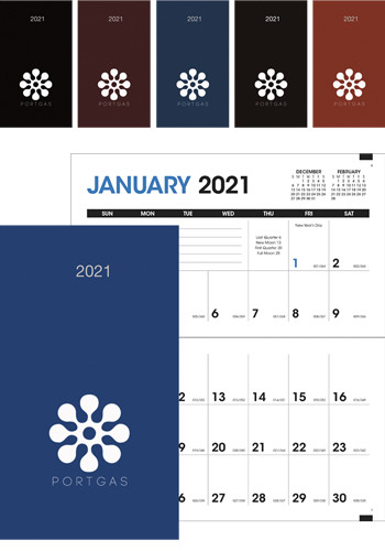 Bulk Monthly Pocket Planner Calendars