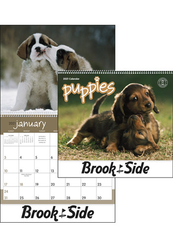 Monthly Puppies Calendars | X11254