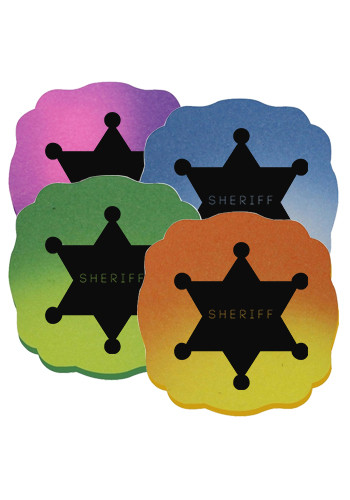 Mood Die Cut Maltese Cross Erasers | AK02138