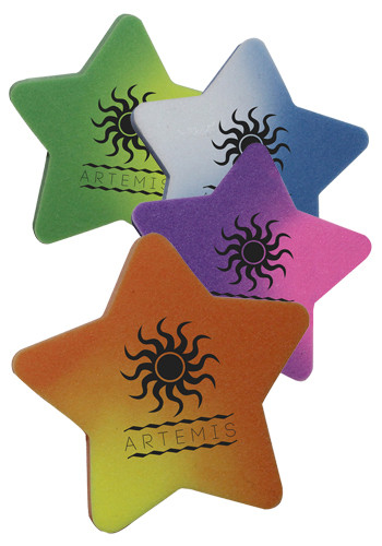 Custom Mood Die Cut Star Erasers