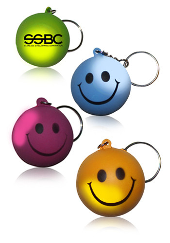 Mood Smiley Face Keychains | AK28010