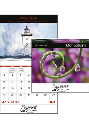 Wholesale Motivations - Spiral Calendars