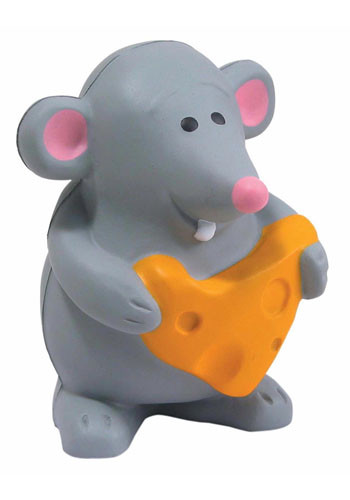 Mouse with Cheese Stress Balls | AL26096