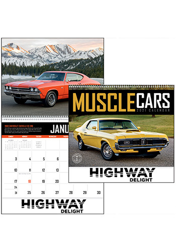 Muscle Cars Triumph Calendars | X11338