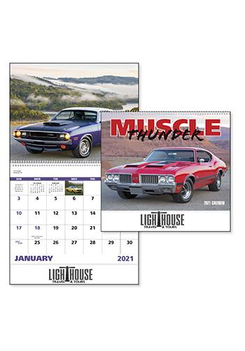 Muscle Thunder - Spiral Calendars | X30182