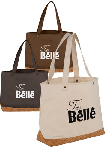 Napa Cotton and Cork Shopper Totes | LE216061