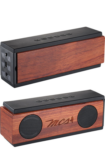 Native Wooden Bluetooth Speakers | LE719969