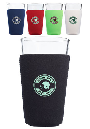 Neoprene Collapsible Pint Glass Coolers | KZNP007